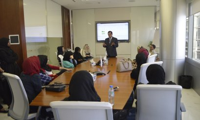 "Educational trip to ""Dubai Gold and Commodities Exchange"""