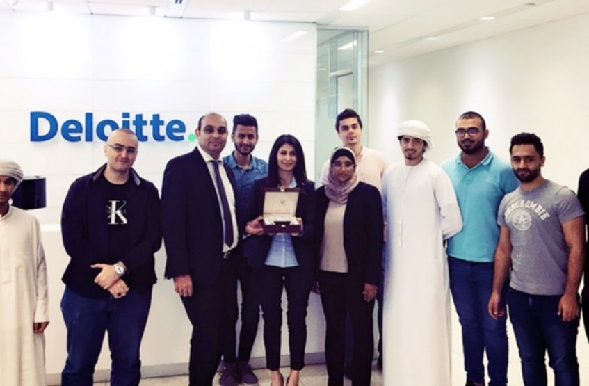 "A Scientific Visit to ""Deloitte & Touch"" company"