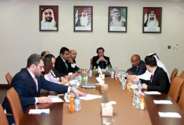A Delegation from ADHA visit AAU