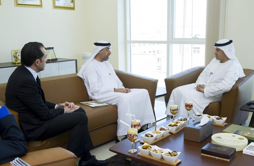 A meeting between AAU Chancellor and General Secretary of FNC