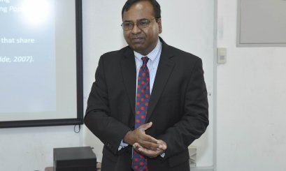 "A Seminar on ""Global Business and New Challenges"" at AAU"