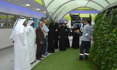Borouge Innovation Center hosts AAU students