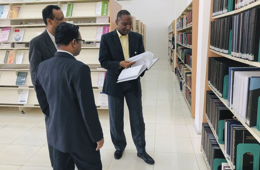 Visit of librarians of BITS-Pilani University