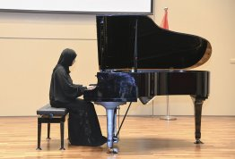 Hosting the UAE's first music composer