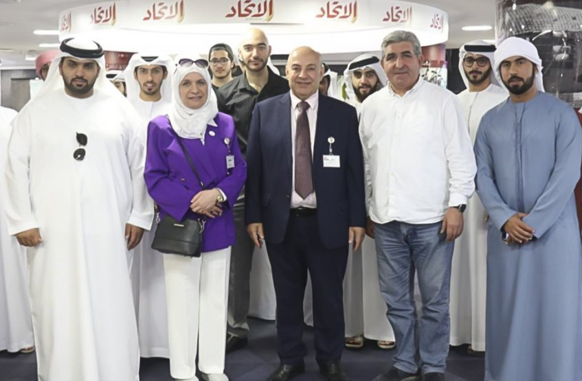 A Visit to Al Etihad Newspaper