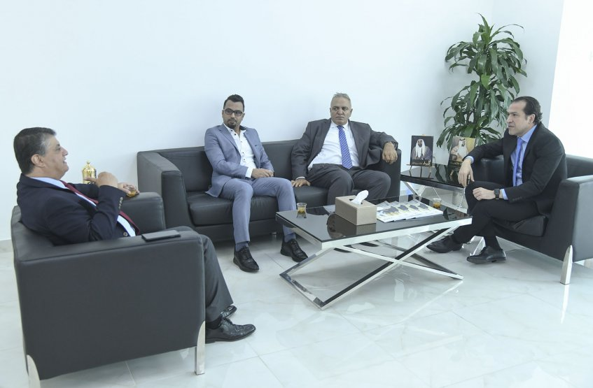 Meeting with Harvard Business Review Arabia